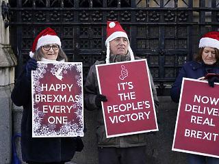 A nap képe: Christmas helyett Brexmas lesz az idén a briteknél