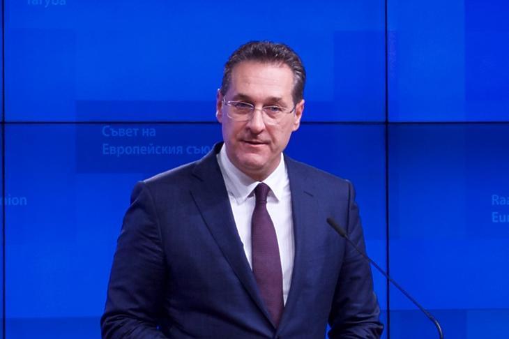 Heinz-Christian Strache (Korábbi felvétel. Forrás: Európai Tanács)
