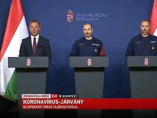 Operatív törzs: szeptemberre várják a koronavírus-oltást - bekeményítenek Budapesten?