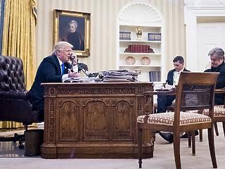 Trump telefonált: felhívott néhány bankvezért