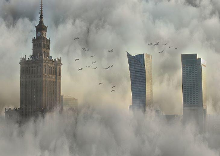 Varsó központjában is van még hely a bővülésre (fotó: pixabay.com)