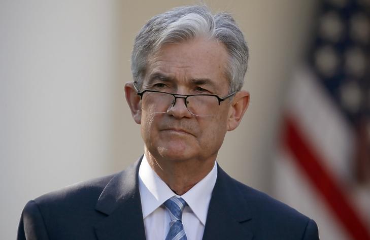 Ma este megszólal Jerome Powell, a Fed elnöke. Fotó: MTI
