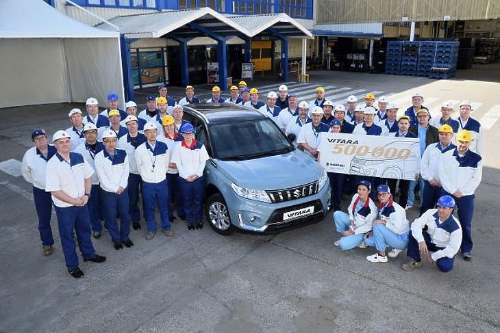 Mérföldkőhöz ért a magyar Suzuki