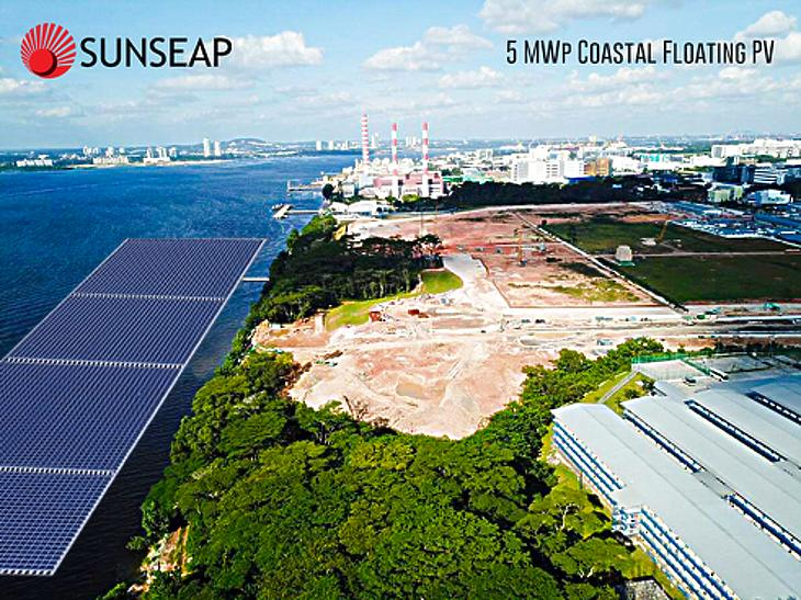 Áttörés jöhet: különleges, óriási úszó naperőművet építenek