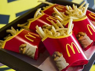McDonald'sszal a kézben, arccal a Fed felé