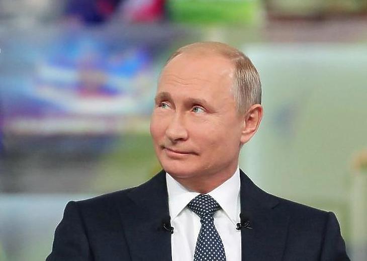 Vlagyimir Putyin (Fotó: MTI)