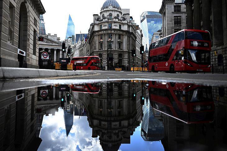 A City Londonban 2020. május 14-én. EPA/NEIL HALL