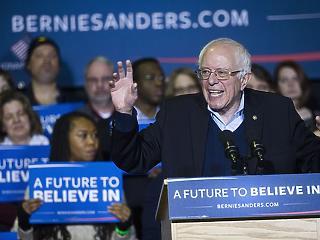 Lassan eldőlhet az előválasztás, Nevadában is Sanders a legnépszerűbb