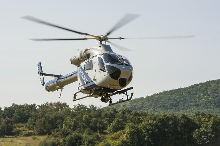 Helikopterrel irtják a parlagfüvet
