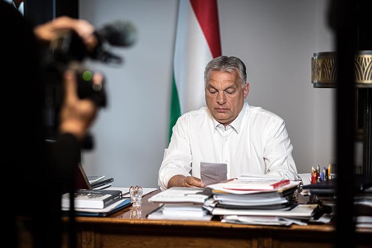 Orbán Viktor (Korábbi felvétel. Forrás: Facebook)