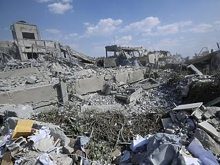 Eddig tartott: Izrael légicsapást mért Szíriára