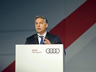 Orbán Viktor: az Audi-gyárért is küzdeni kell