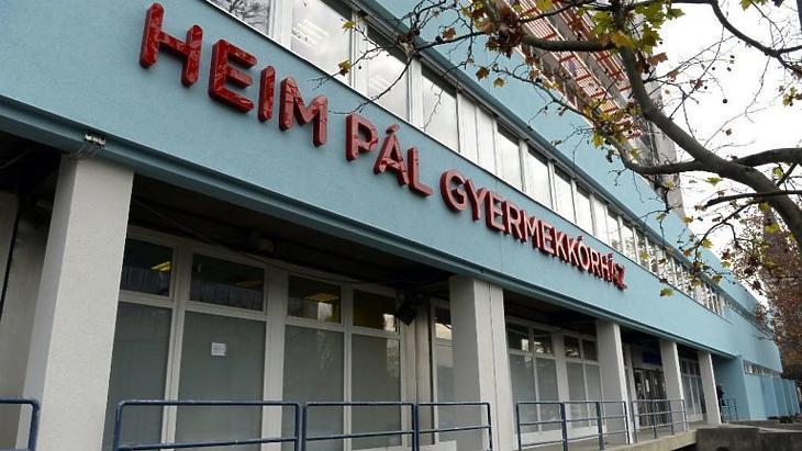 A Heim Pál Gyermekkórház is lenullázhatta adósságait az év végén. Fotó: mti