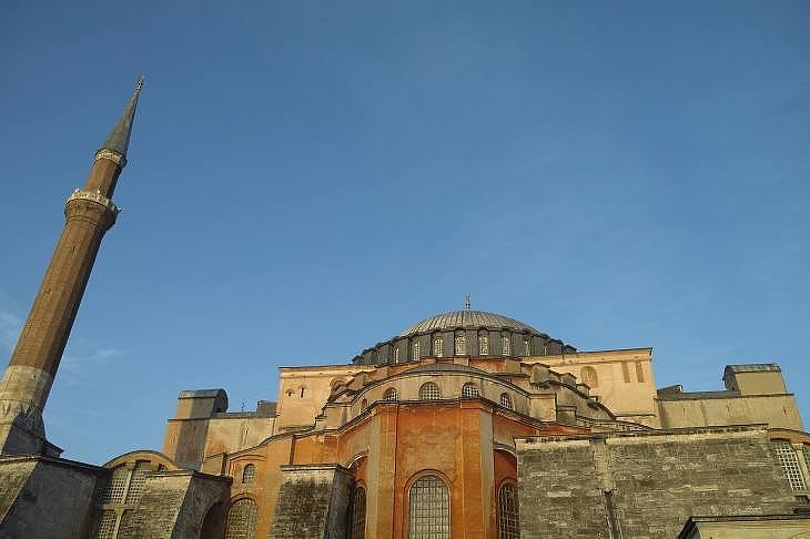 A Hagia Sophia (Isztambul, Törökország). (Pixabay.com)