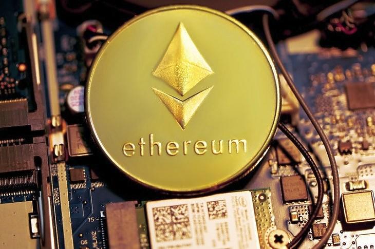 Ethereum emlékérme (Unsplash.com)