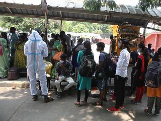Koronavírus: szupervulkánként robban India