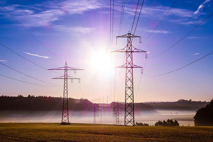 Töretlenül nő a villamosenergia fogyasztás
