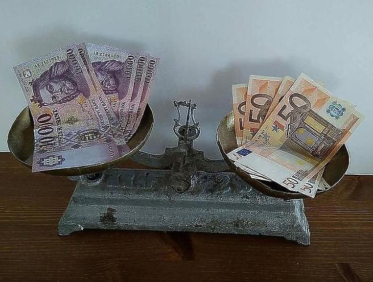 Egyre többet kell fizetnünk az euróért. (Fotó: Mfor/Privátbankár)