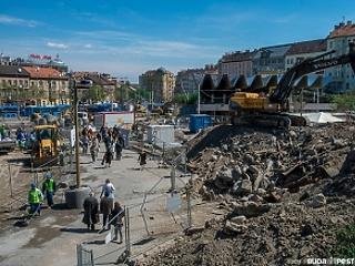 Teljesen átalakul Budapest egyik legforgalmasabb tere