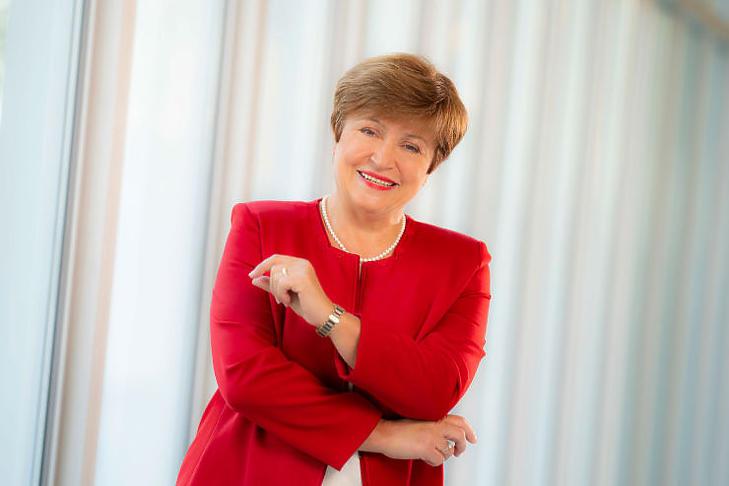Kristalina Georgieva, az IMF vezérigazgatója (Forrás: imf.org)