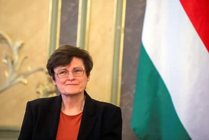 Karikó Katalin újabb rangos elismerésben részesült (Fotó: MTI/Balogh Zoltán)