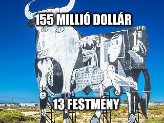 A Nap Száma: rengeteg Picasso képet vett egy vásárló