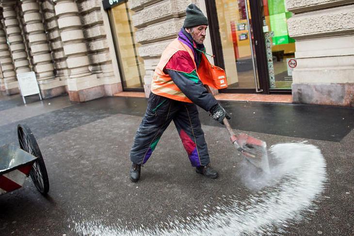 Ónos eső és havazás is jöhet Magyarországon
