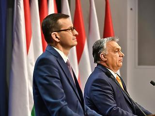 Orbán Viktor megint Varsóban tárgyal a vétóról a csütörtöki csúcs előtt