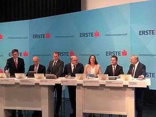 Kiemelkedett bankcsoportjából a hazai Erste működési eredménye