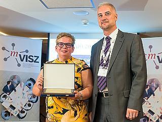 Nagyné Agárdi Györgyi nyerte a rangos kitüntetést