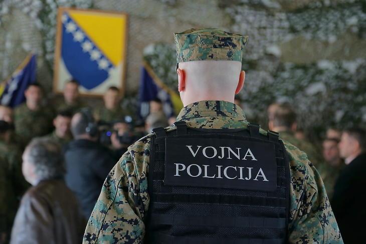 Boszniai katona (Illusztráció: Depositphotos)