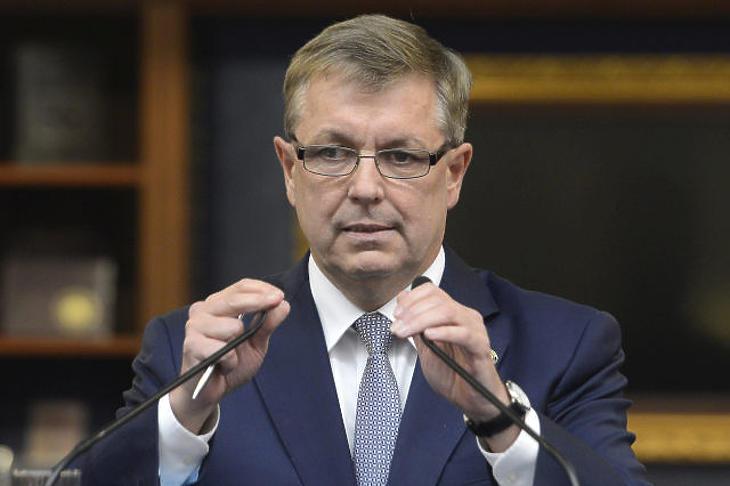 Már ma megszólal Matolcsy György? Fotó: MTI