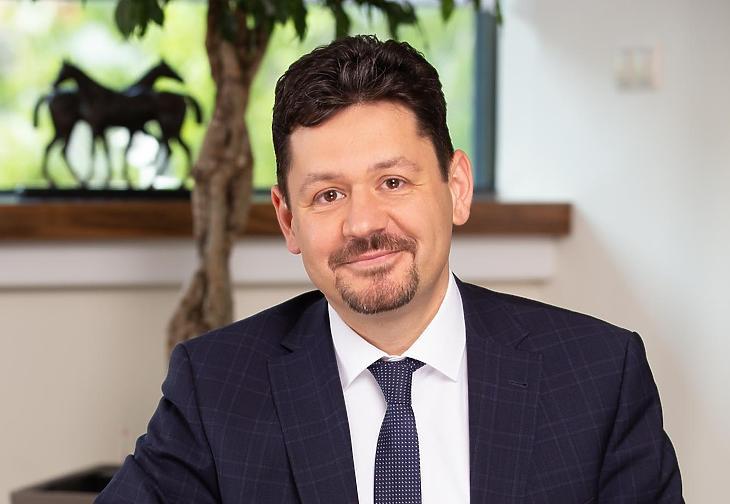 Kozma Zoltán, a Takarékinfo Zrt. vezérigazgatója