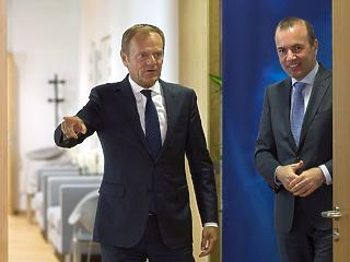 A nap képe: fontos emberrel találkozott Manfred Weber Brüsszelben