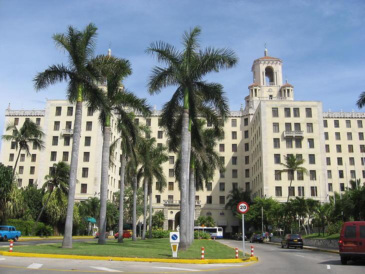 A havannai Hotel Nacional - a 2016-os hangtámadások egyik helyszíne. (Fotó: Jongleur100 / Wikipedia)