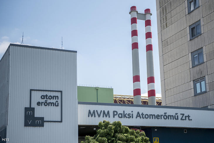 A Paksi Atomerőmű. (MTI / Sóki Tamás)