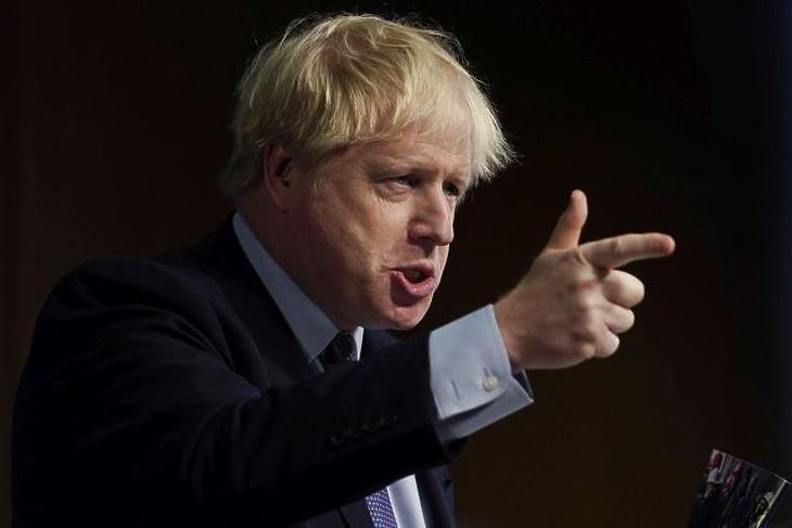 Boris Johnson. (Fotó: EPA)