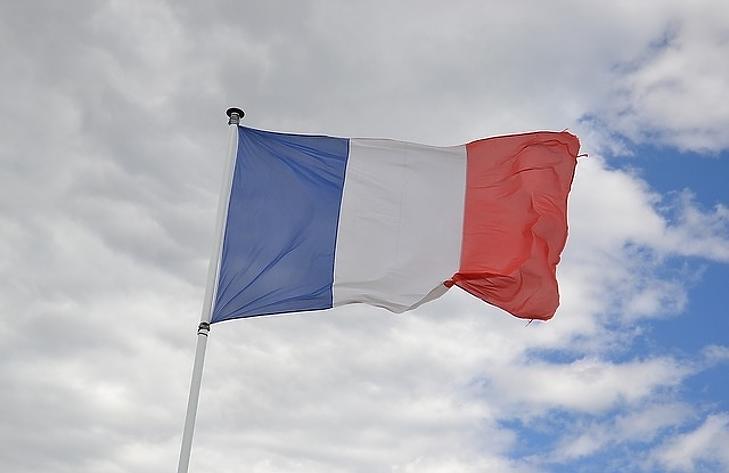 A francia lobogó. (Illusztráció)
