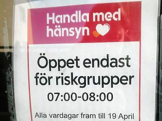 A nap képe: korán kelhetnek a svéd nyugdíjasok