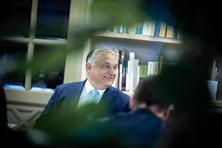 ...Orbán Viktor ma (Fotó: Facebook / Orbán Viktor)