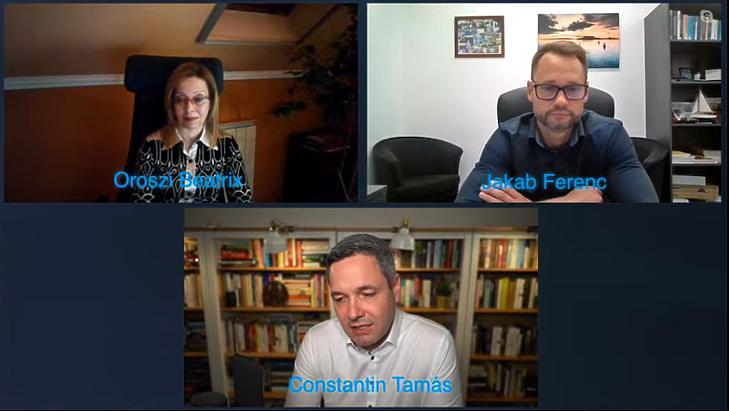 Az első Miérted FB-eseményt Dr. Constantin Tamás vezette Dr. Oroszi Beatrix és Dr. Jakab Ferenc részvételével. Fotó: mfor.hu