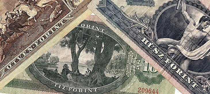 Régi forintbankjegyek