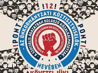 7500 közszolga sztrájkol országszerte