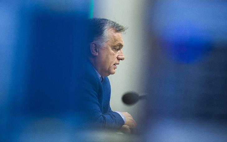 Orbán Viktor (Fotó: MTI/Mohai Balázs)