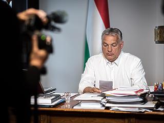 Rendkívüli Orbán Viktor 20201103
