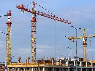 Márciusra az építőipar is megrogyott