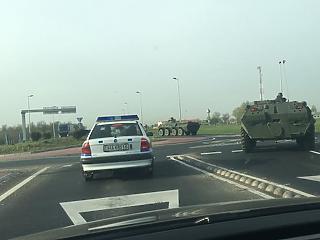 Külföldi csapatok vonulnak át Magyarországon