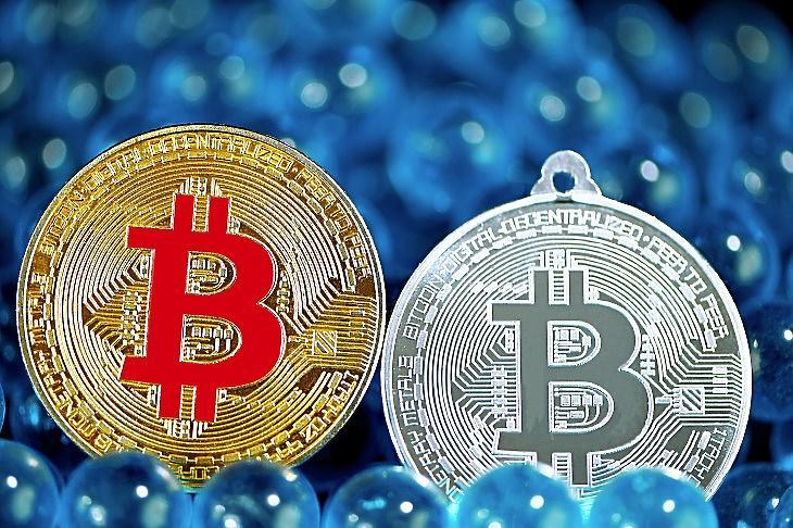 Bitcoin-emlékérmék (Fotó: Unsplash.com)