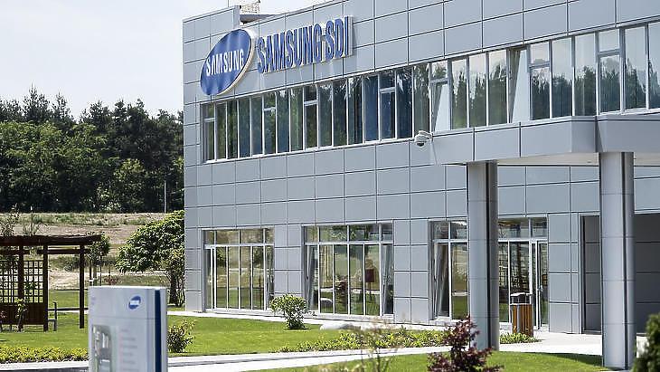 A gödi Samsung gyár (Fotó: Szigetváry Zsolt)