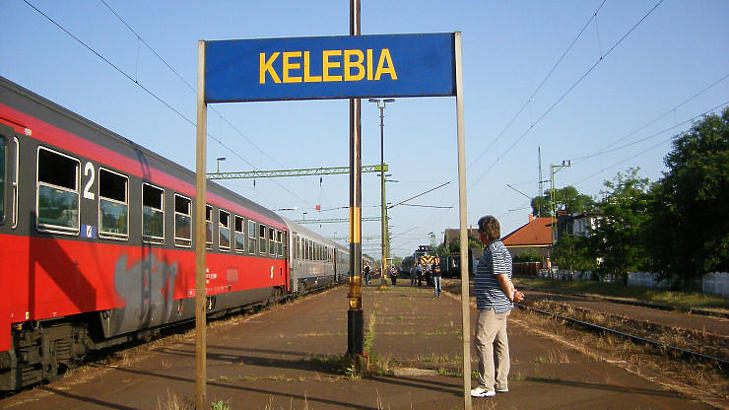Kelebián át visz majd a vonal Belgrádig - illusztráció (Fotó: MTI)